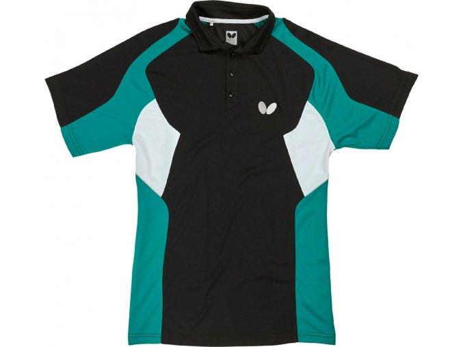 Butterfly textil shirt shiro schwarz