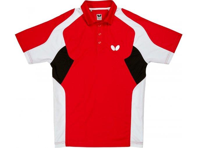 Butterfly textil shirt shiro rot