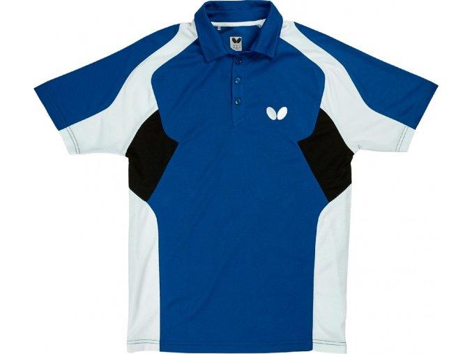 Butterfly textil shirt shiro blau