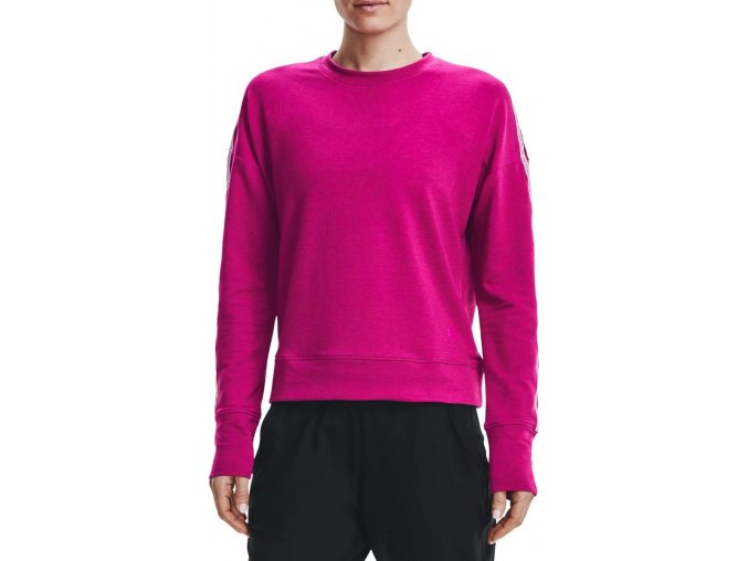 under armour ua rival terry taped crew pnk 334650 1360905 660