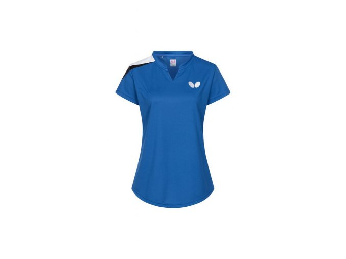 Butterfly shirt TOSY Lady blue front