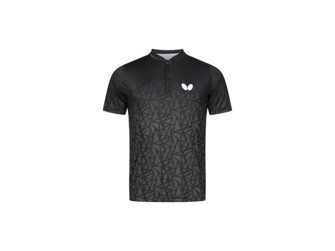 Butterfly shirt HIGO black front