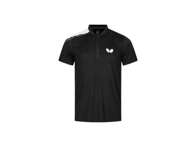 Butterfly shirt TOSY black front