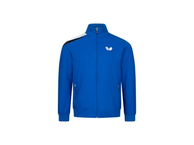 Butterfly jacket TOSY blue front 1