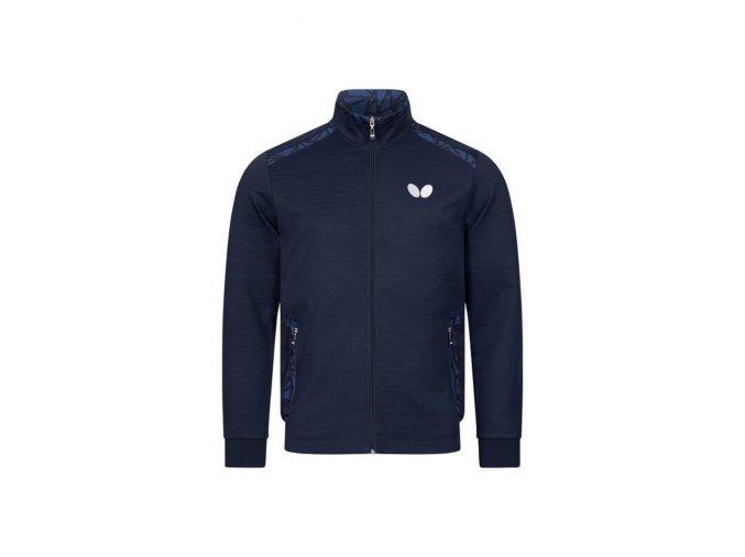 Butterfly jacket HIGO navy front
