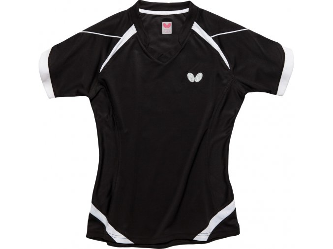 butterfly textiles shirt kido lady black 1