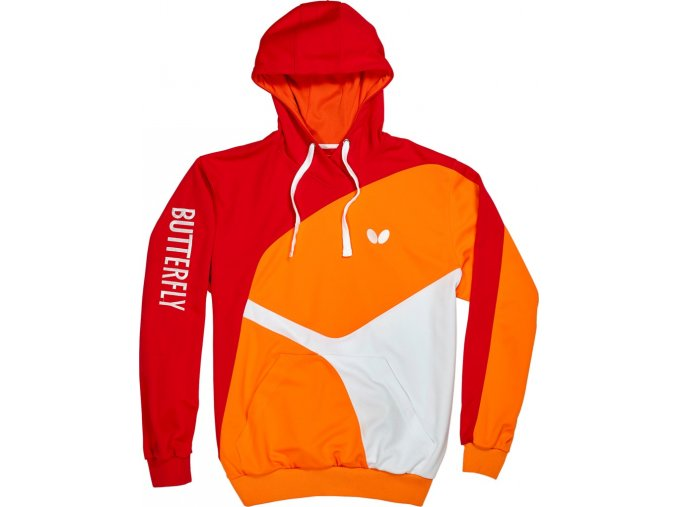 Butterfly textil hoodie ryo rot