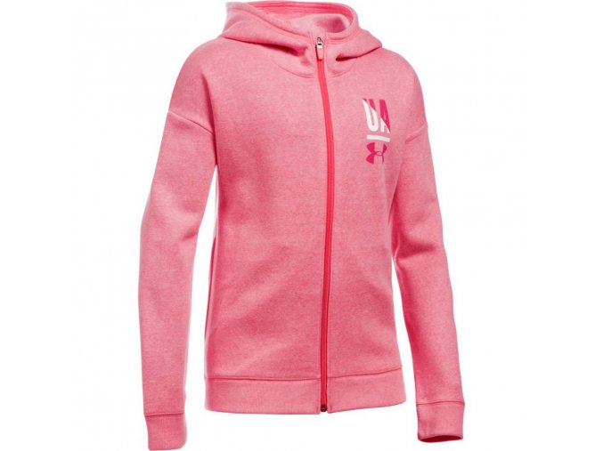 DÍVČÍ MIKINA UNDER ARMOUR FAVORITE FLEECE FULL ZIP