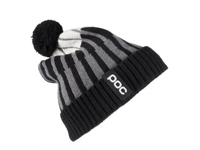 poc jaquard knit beanie cepice uranium multi black 0.jpg.big