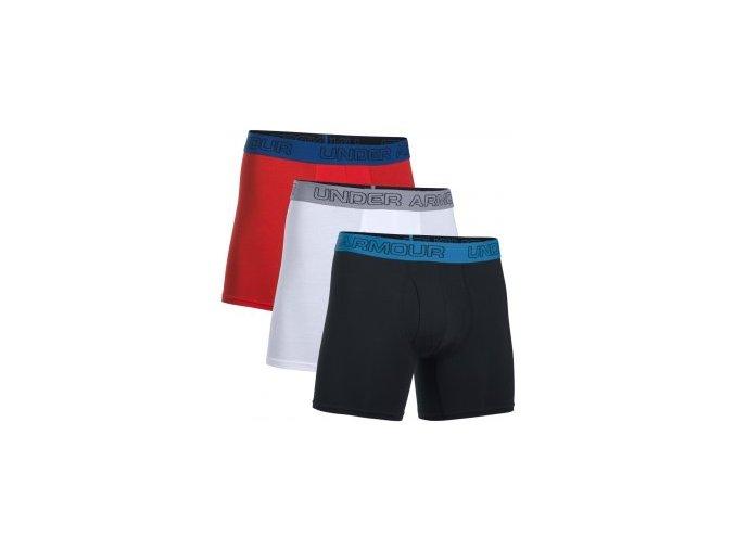 Pánské boxerky Under Armour Charged Cotton 6inch 3pk
