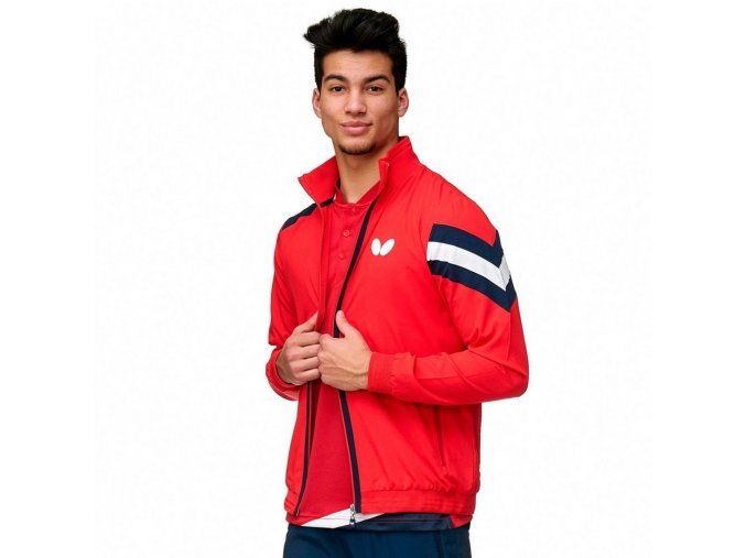 suit jacket santo red front 12