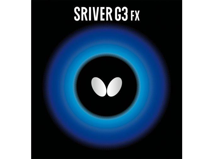 butterfly belaege sriver g3 fx