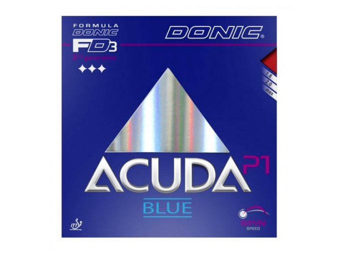 donic acuda blue p1 table tennis rubber 000279 500x500