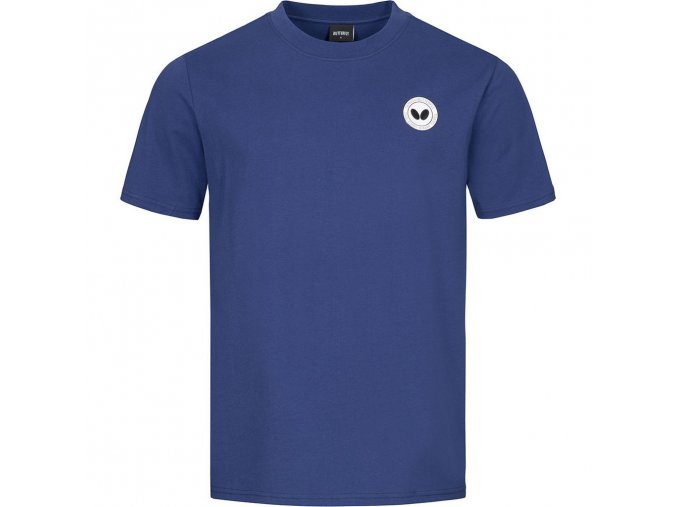 tshirt kihon blue front