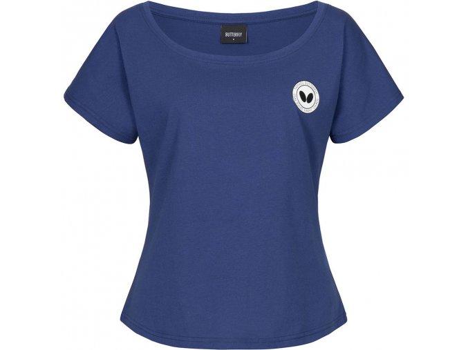 tshirt kihon lady blue front