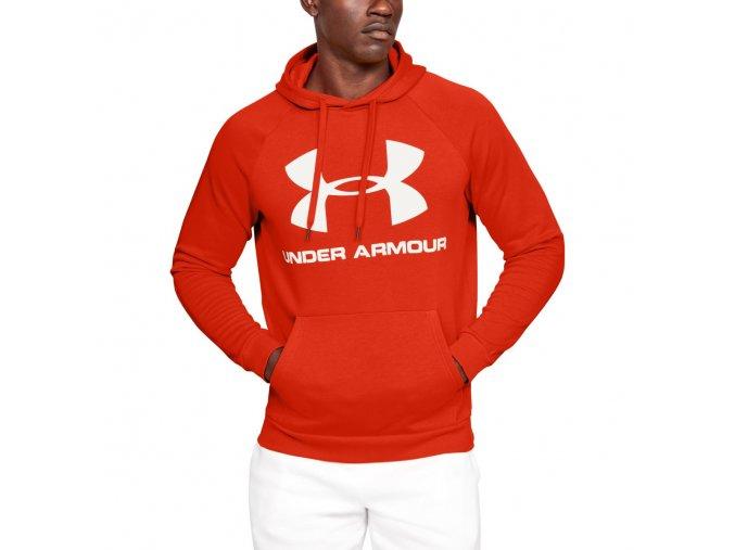 Pánská Mikina Under Armour Rival Fleece Sportstyle Logo Hoodie