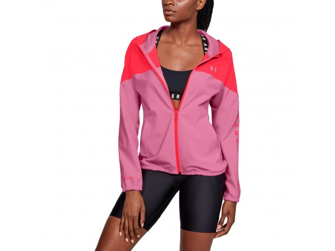 Dámská Bunda Under Armour Woven Hooded Jacket
