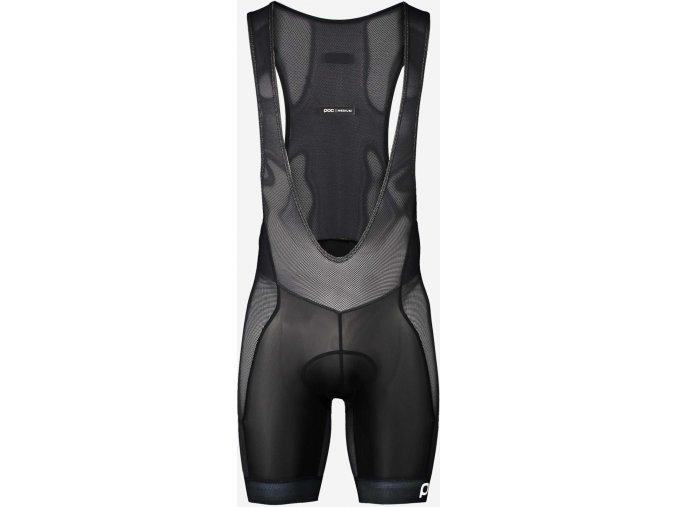Cyklistické kraťasy POC MTB Air Layer Bib Shorts Uranium Black
