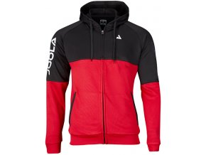 97182 Hoodie PERFORMANCE black red