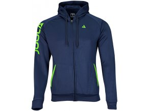 97158 Hoodie PERFORMANCE navy lime