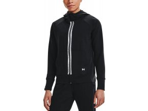 under armour rival terry taped fz hoodie blk 334220 1360907 001