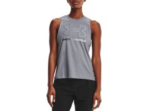 under armour live sportstyle graphic tank gry 334991 1356297 035