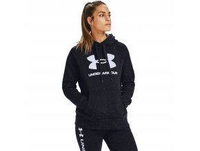 rival fleece logo hoodie black 1 (1)