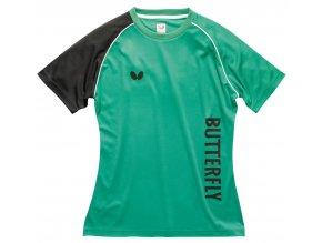 Butterfly Shirt Lady Aino green