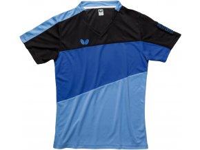 butterfly textiles shirt koki blue 1