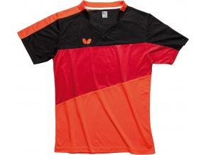 butterfly textiles shirt koki red 1