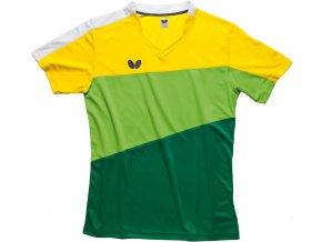 butterfly textiles shirt koki green 1