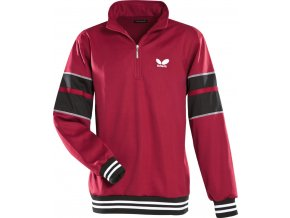 butterfly sweatshirt force dark red 1