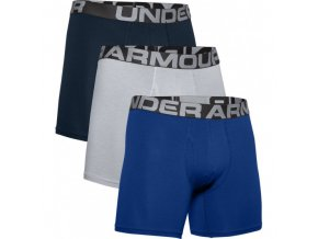 Pánské boxerky Under Armour Charged Cotton 6inch 3pk