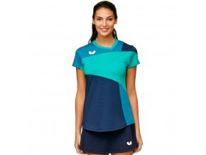t shirt mito lady blue front 1 5