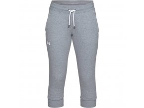 Dámské tepláky Under Armour Cotton Fleece Slim leg Crop