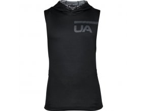 mikina under armour mk1 terry sleeveless hoodie 1306446 001