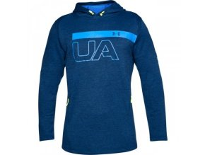 under armour 1306445 487 tech terry po graphic hoodie mnb med 13