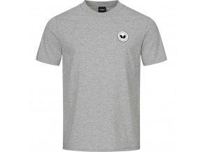 tshirt kihon grey front