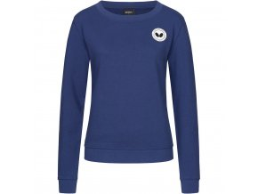 sweater kihon lady blue front