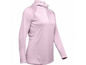 Dámská Mikina Under Armour Tech LS Hoody 2.0- Twist