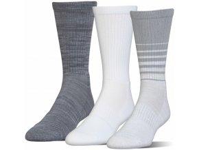 Pánské Ponožky Under Armour PHENOM TWISTED CREW
