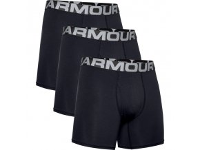 444818 panske boxerky under armour charged cotton 6 3 pack cerne 2 1363617 001 pack