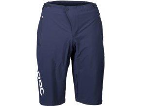 Cyklistické kraťasy POC Essential Enduro Shorts Turmaline Navy