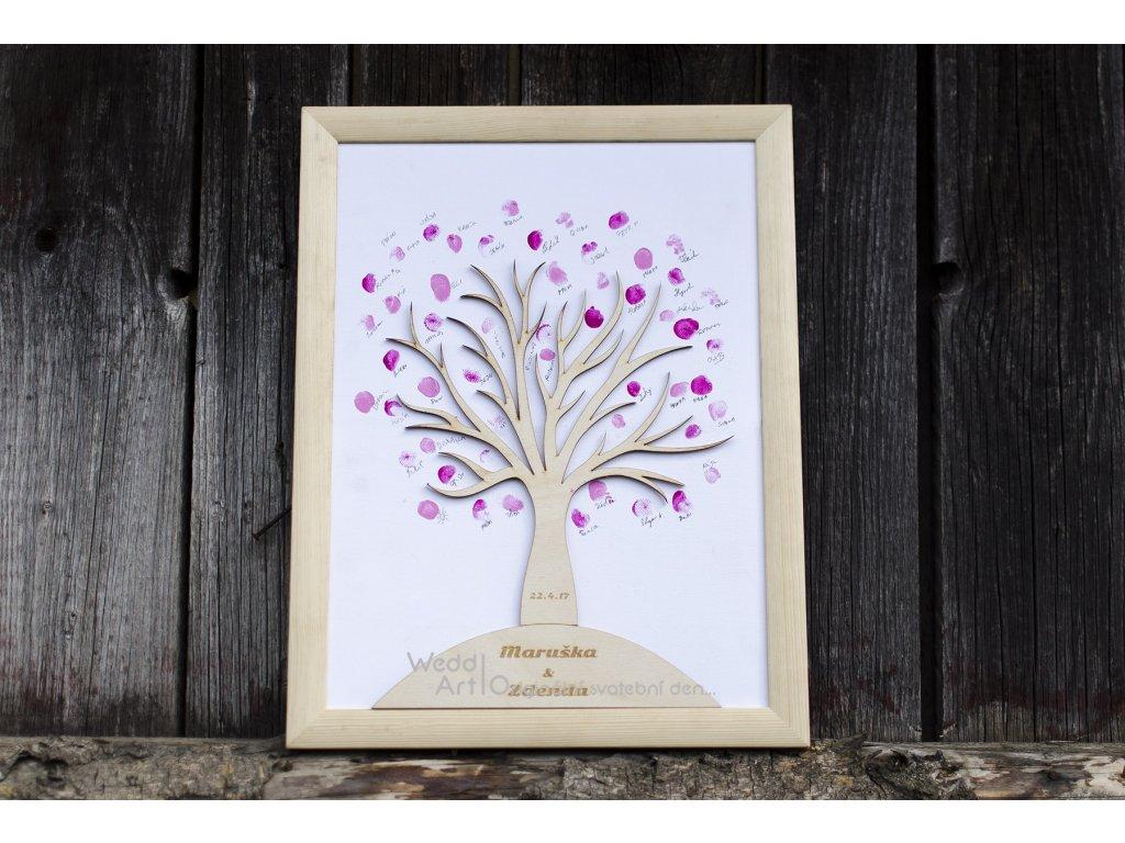 Dreveny Svatebni Strom Weddart