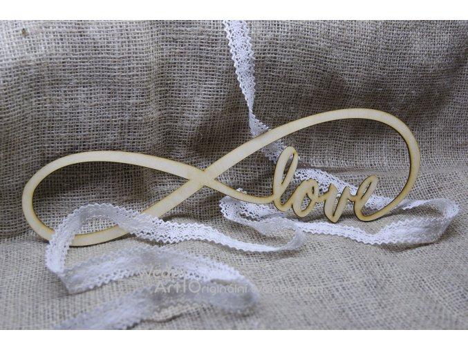 Svatební symbol nekonečno