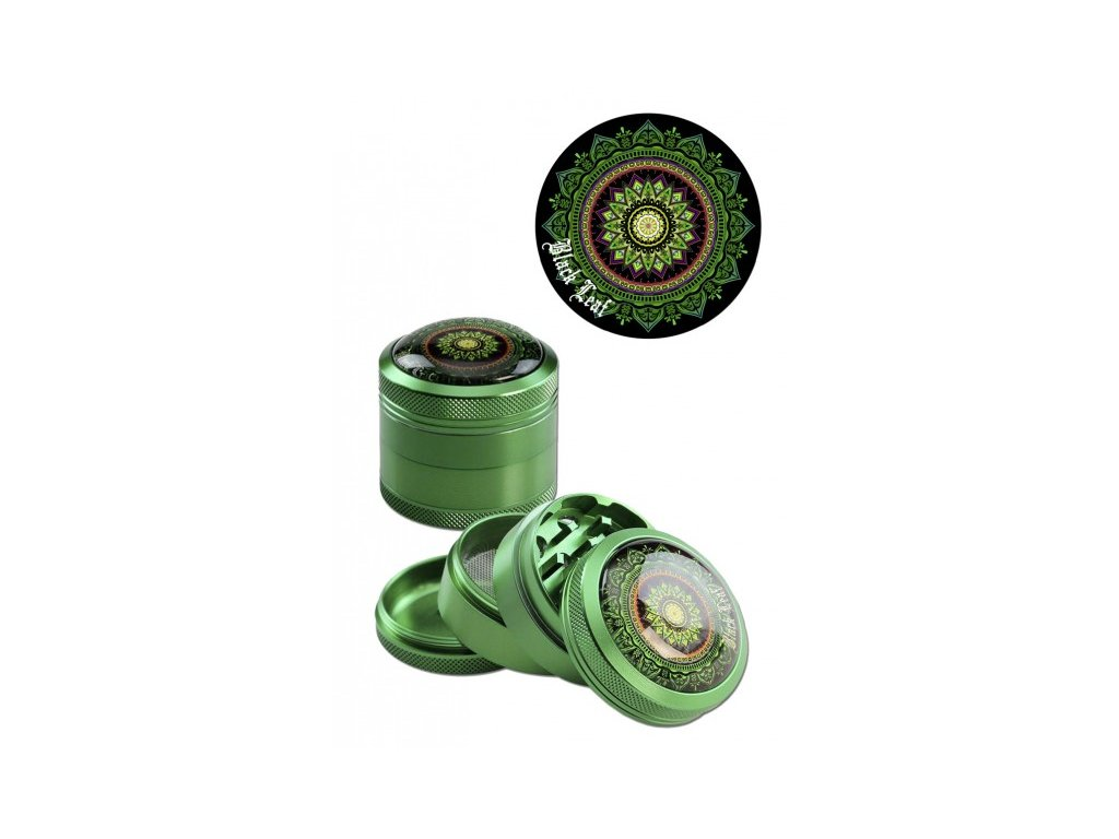 drticka mandala zelena