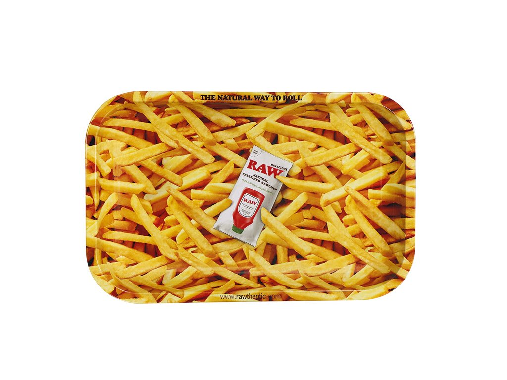 RAW TRAY FRENCH FRIES SMALL