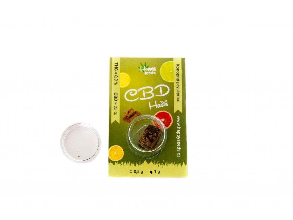 CBD Hašiš Lemon OG - (CBD 25 %) od Happy seeds