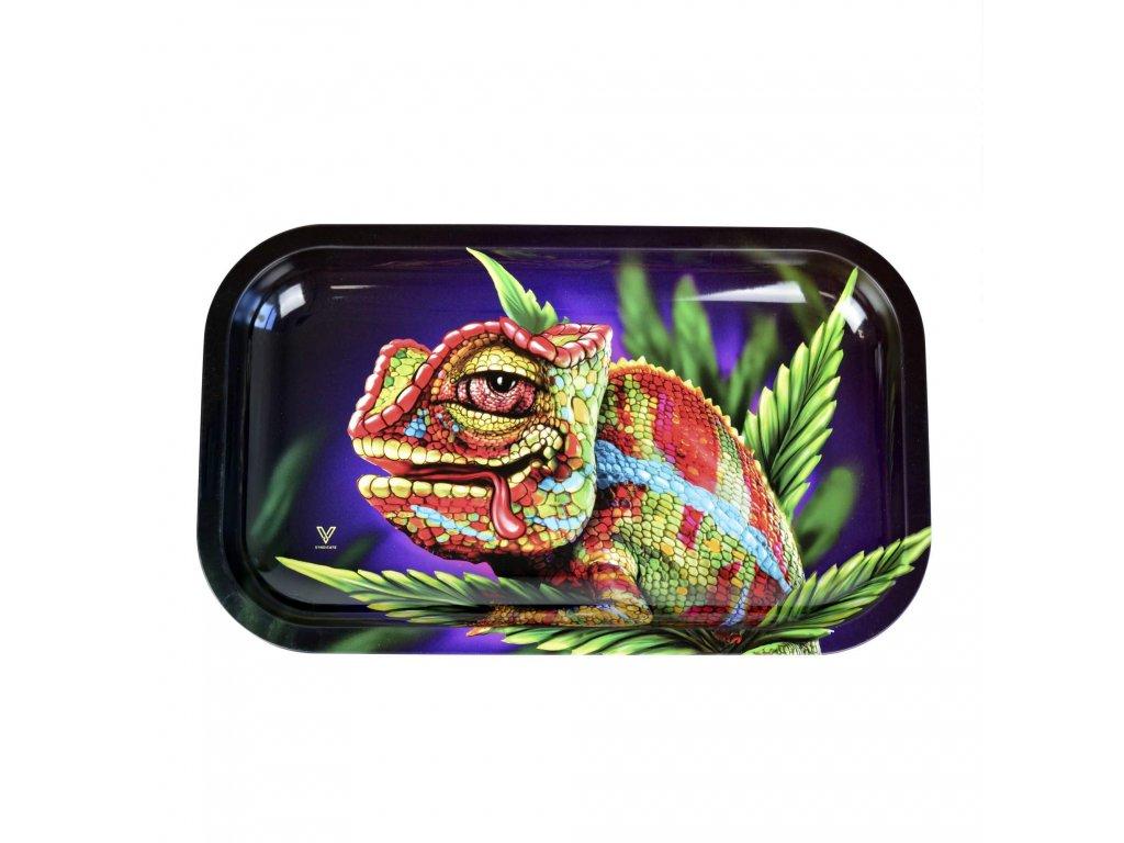 balici kovovy podklad chameleon