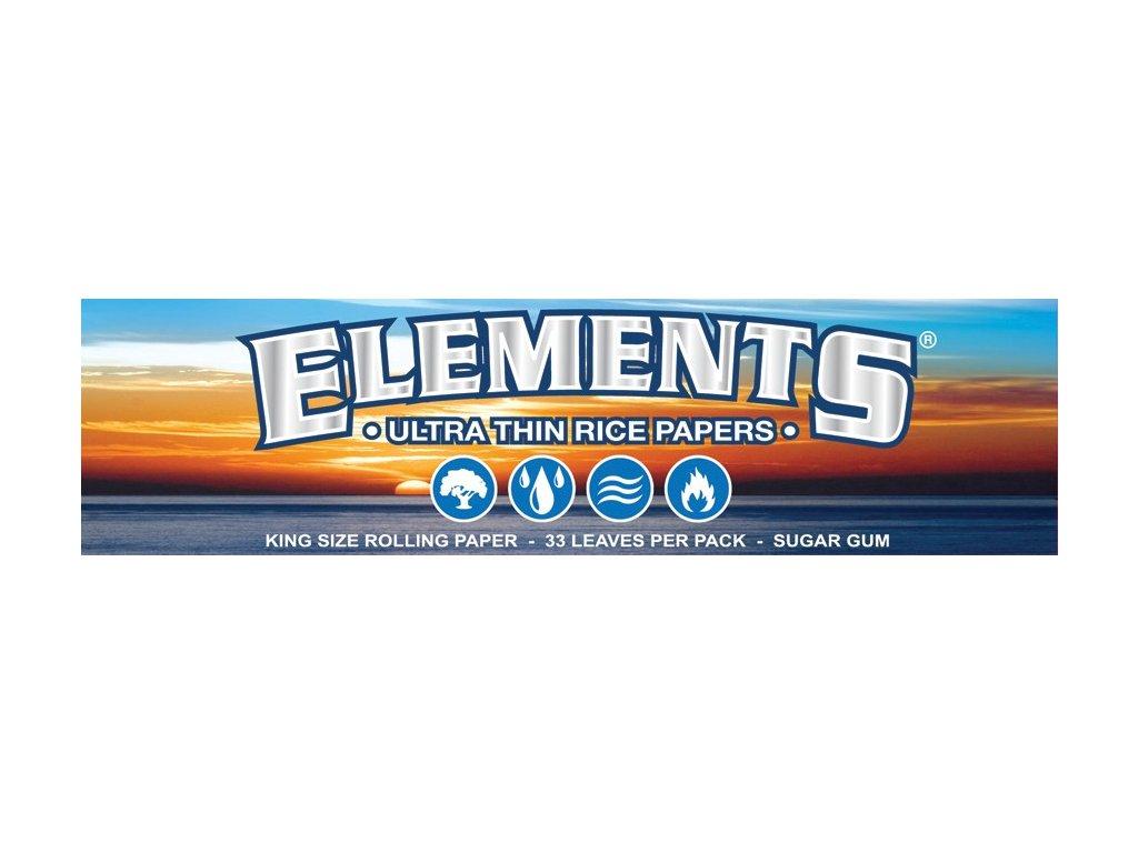 2476 1 elements cigaretove papirky ryzovy papir ks slim